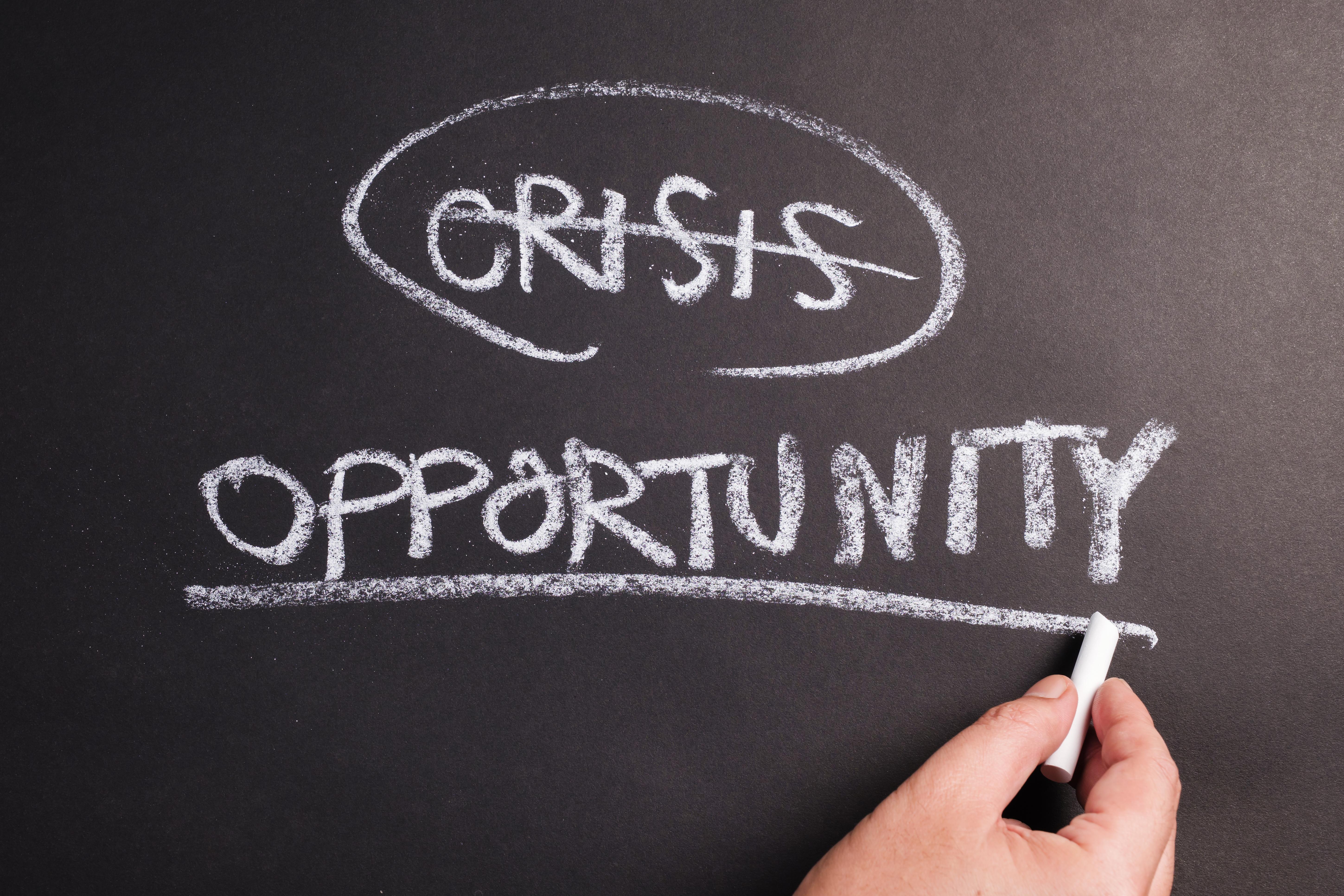 kansen in crisistijd